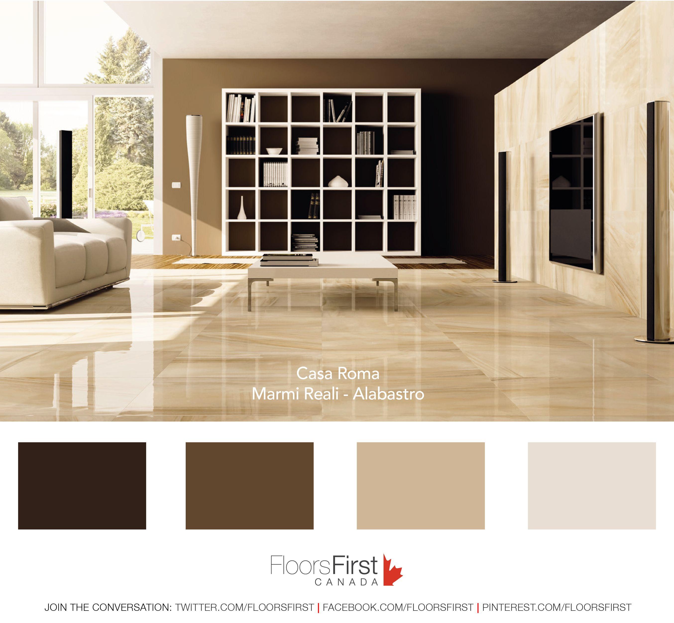 Floor Tile Decor Casa Roma Marmi Reali Series Floor Tile  Design It  Floor Tile