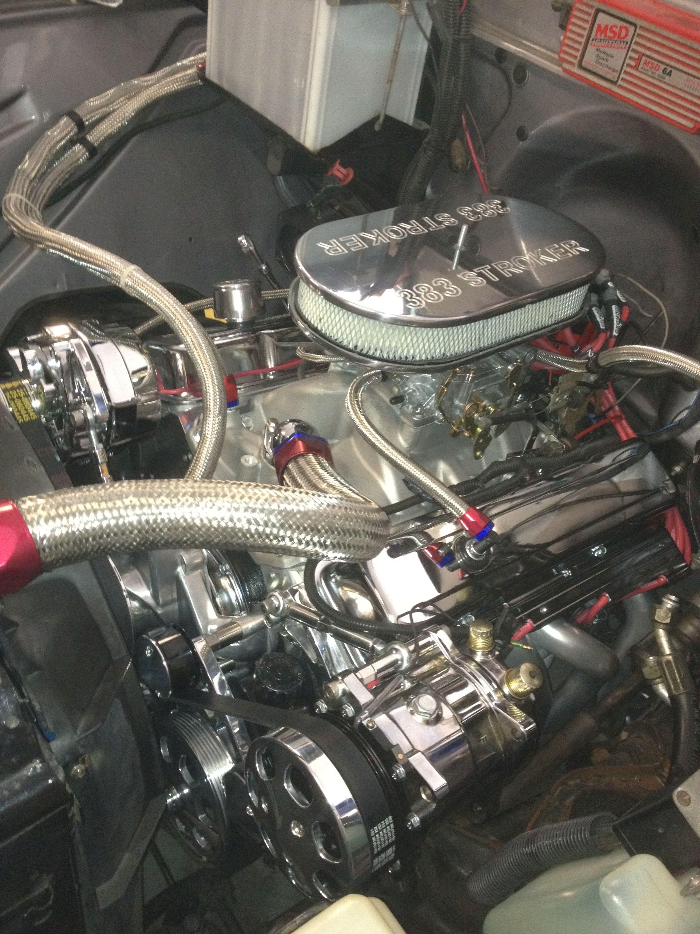 383ci stroker crate engine small block gm style dressed engine malvernweather Gallery