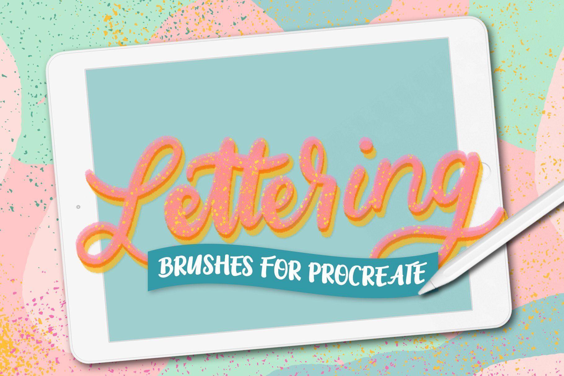 800+ brush bundle for procreate Procreate lettering