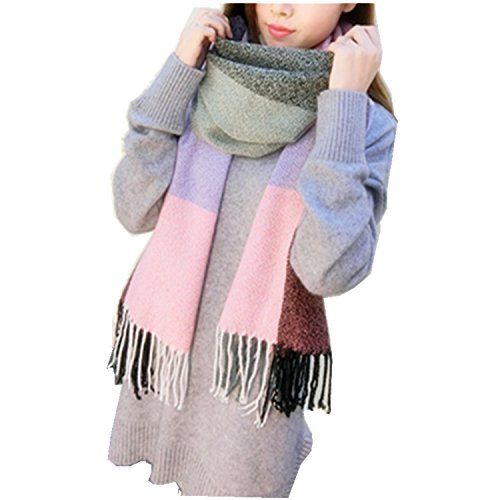 Women's Plaid Blanket Scarf Winter Big Tartan Wrap Shawl ... https://www.amazon.com/dp/B01LXIUG1E/ref=cm_sw_r_pi_dp_x_kcDfAbVNWN1WN