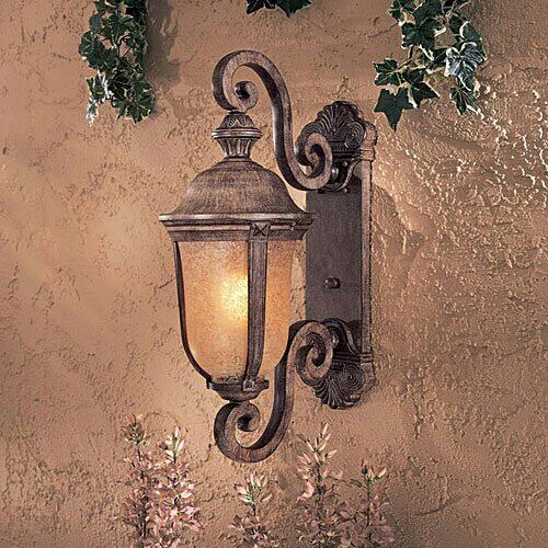 Minka Lavery Great Outdoors Ardmore Es 1 Light Wall Lantern Medium Ml 8991 61 Pl