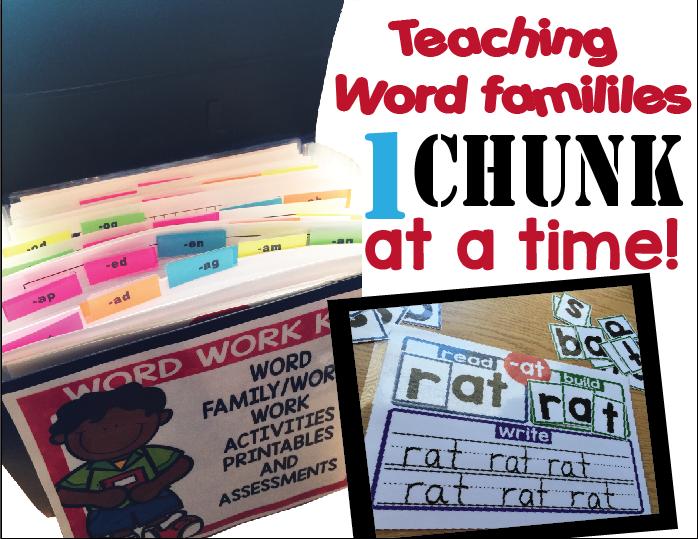 Word Family Activities  Literacy    Activities