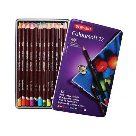 Bellearti-it-Scatole-in-Metallo-Derwent-ColourSoft-Pastelli-Colorati-morbidi 25e231c12a0