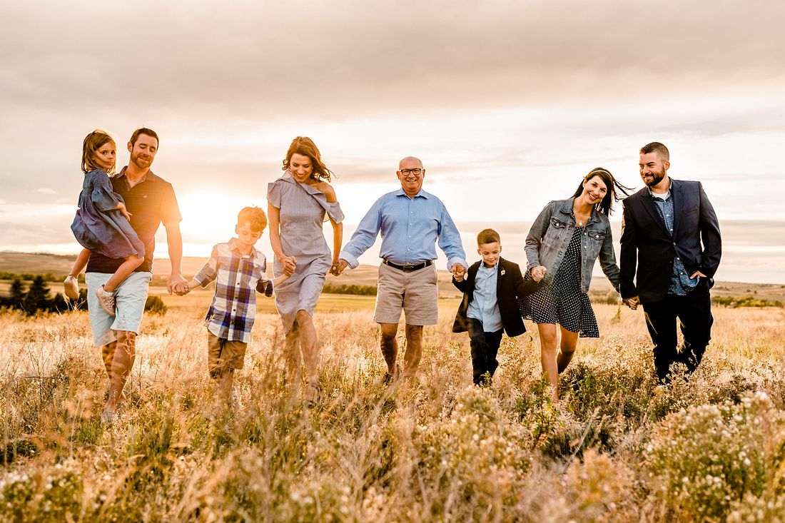 The Paul Family // Kiowa Colorado Extended Family Photographer #extendedfamilyphotography