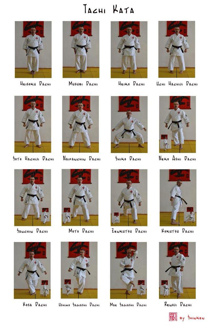 Tachi Kata With Images Shotokan Karate Aikido