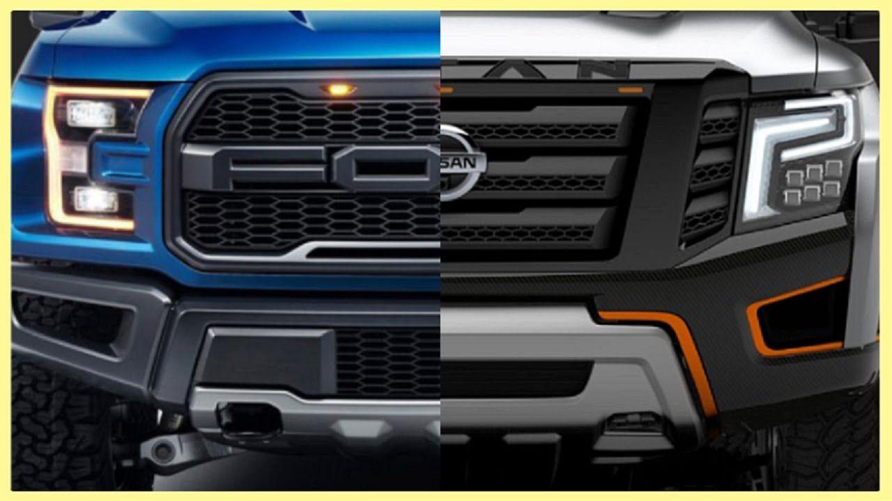 Lifted Titan Xd >> 2017 Ford F-150 Raptor vs Nissan Titan Warrior   Nissan titan, Nissan, New trucks