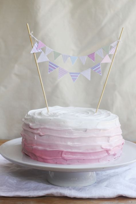 Four Ingredient Gluten Free Dairy Free Sponge Birthday Cake