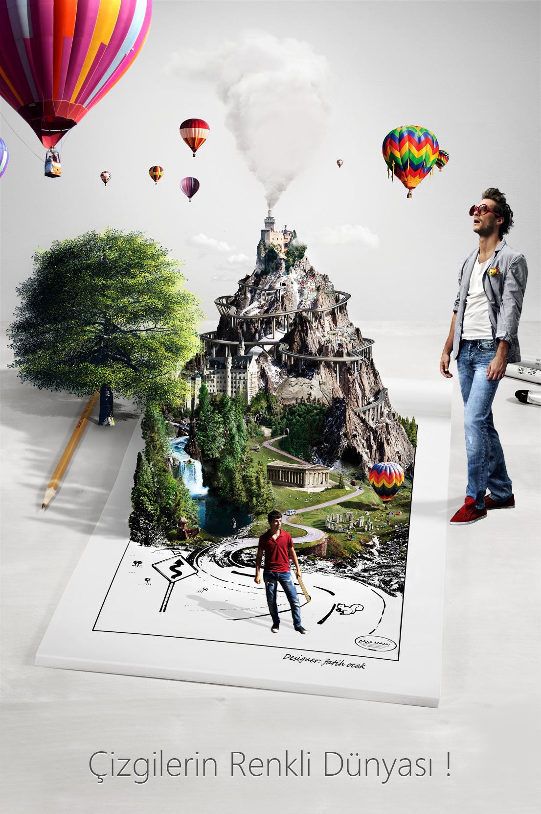 Poster design deviantart - My Creative Poster Design By Fatihocak Deviantart Com On Deviantart