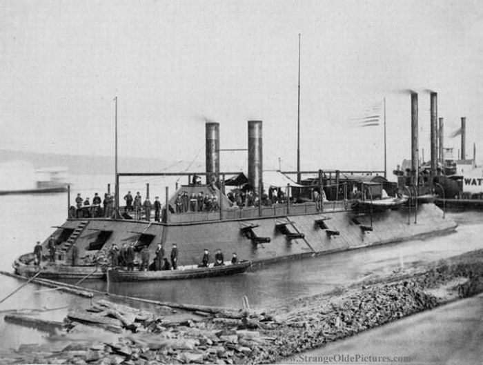 a history of how uss monitor and uss merrimack contributed to the civil war Uss monitor: a historic ship completes its final voyage naval history, and the civil war uss merrimack.