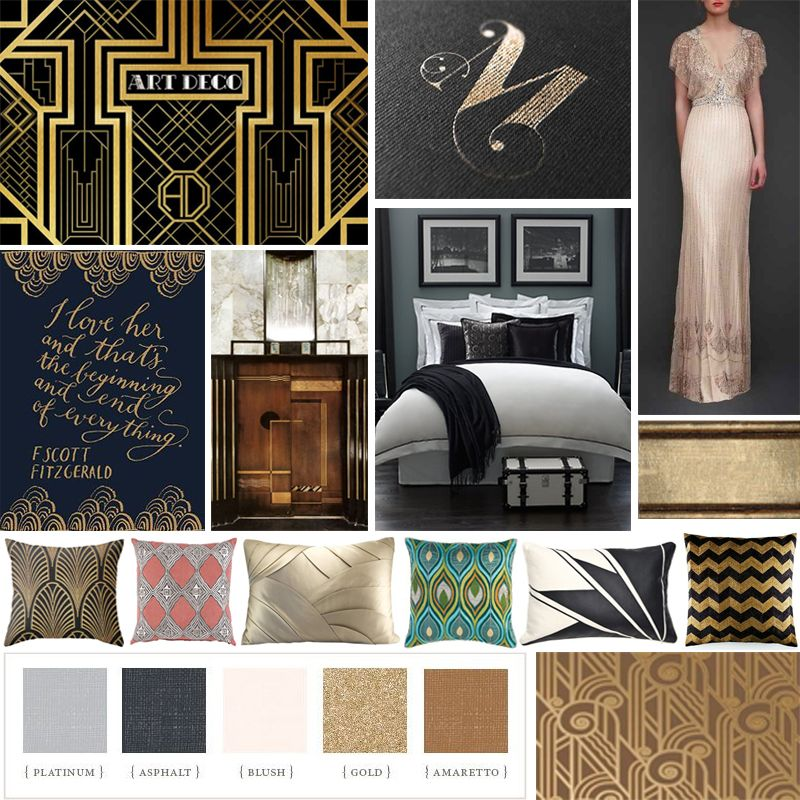 This Mood Board Is Taking It Back To The 20's. Get Your
