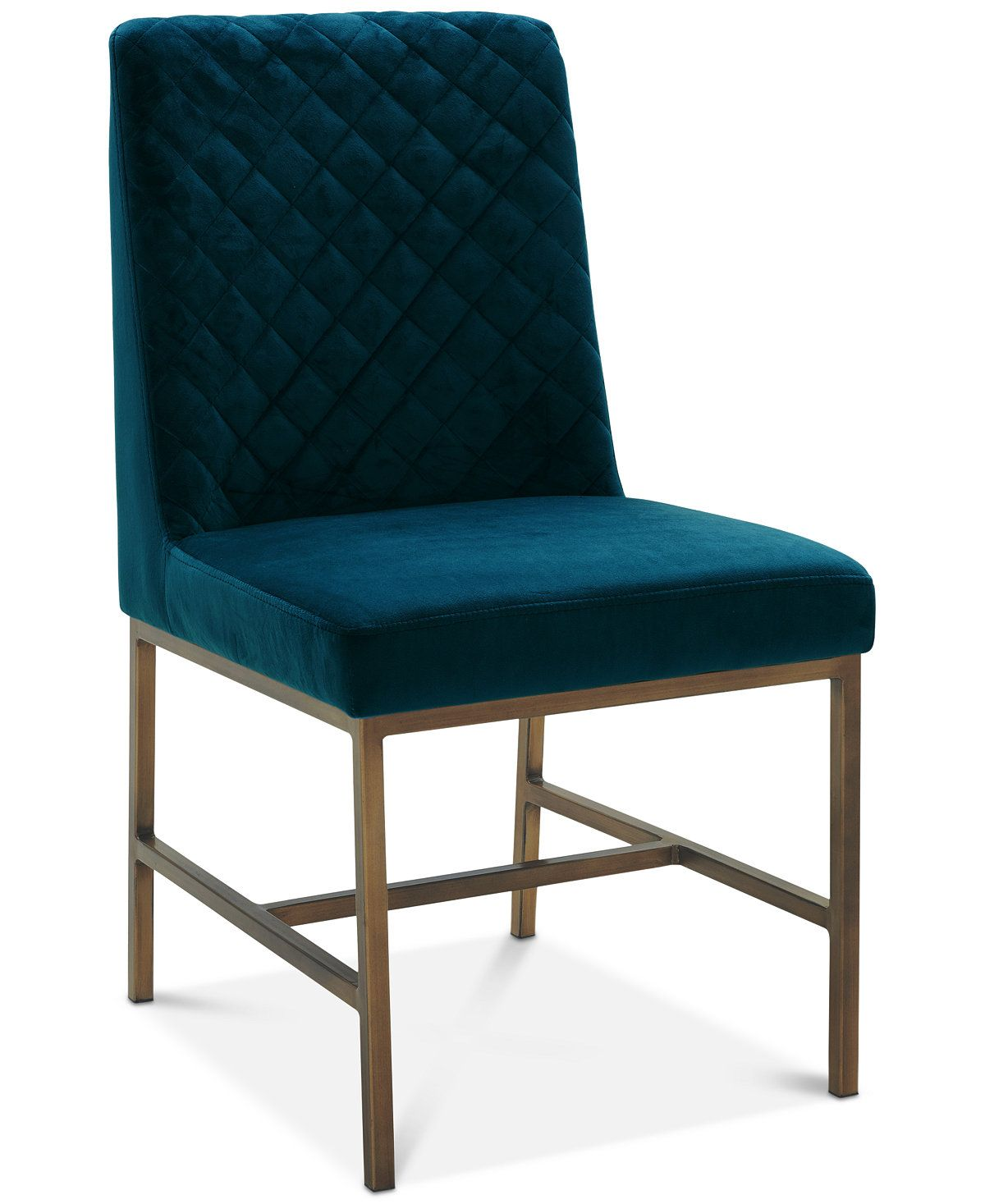 Cambridge Dining Side Chair (Teal) - Dining Room Chairs & Benches - Furniture - Macy's