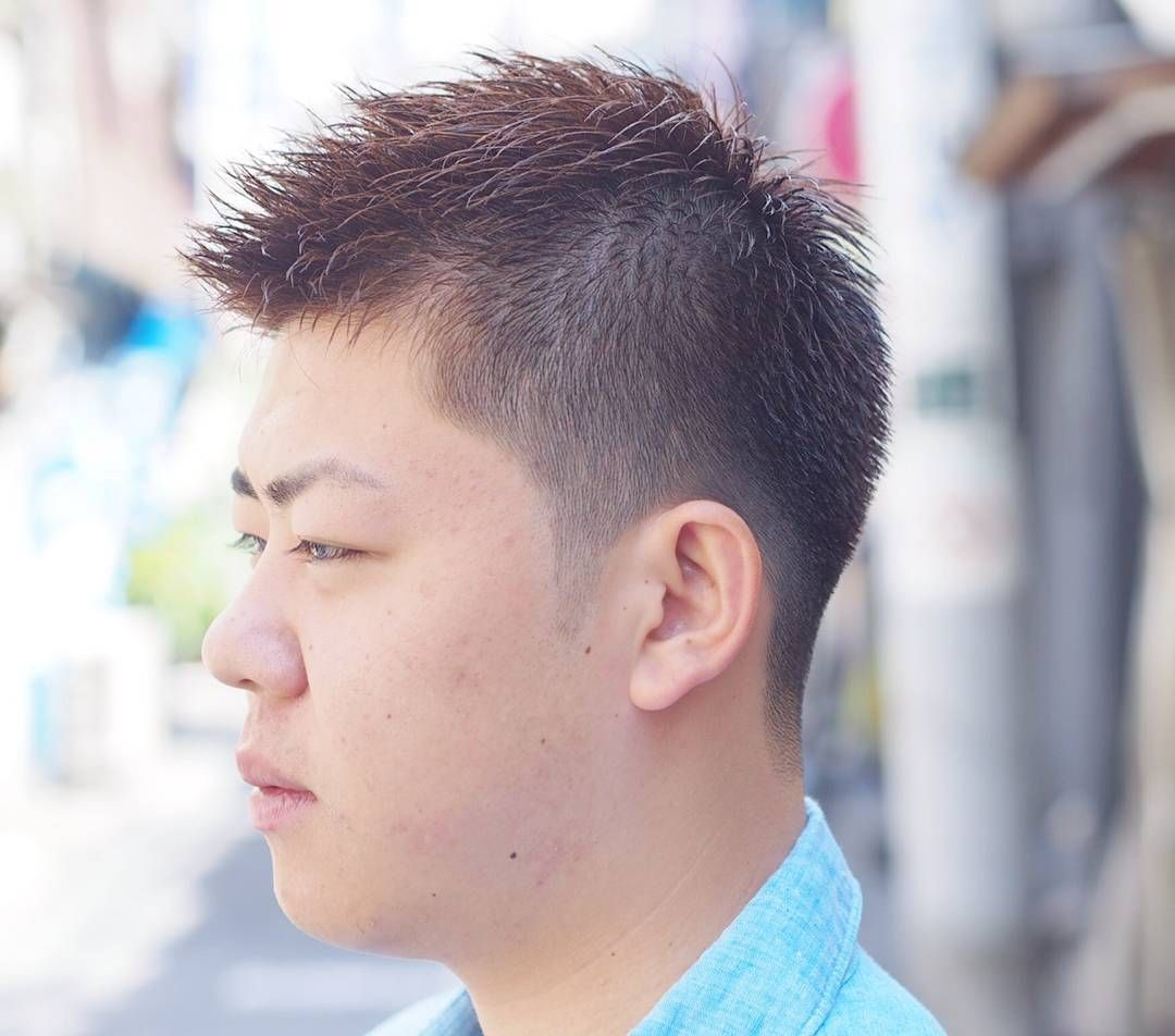 Fade Rough Short Style For Anese Man