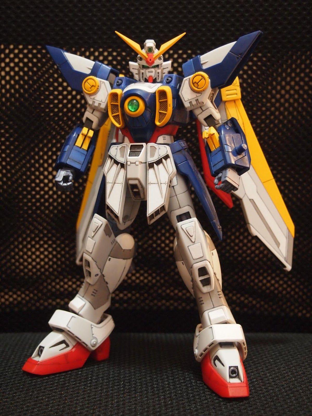 HG 1//100 XXXG-01W Wing Gundam Mobile Suit Gundam W