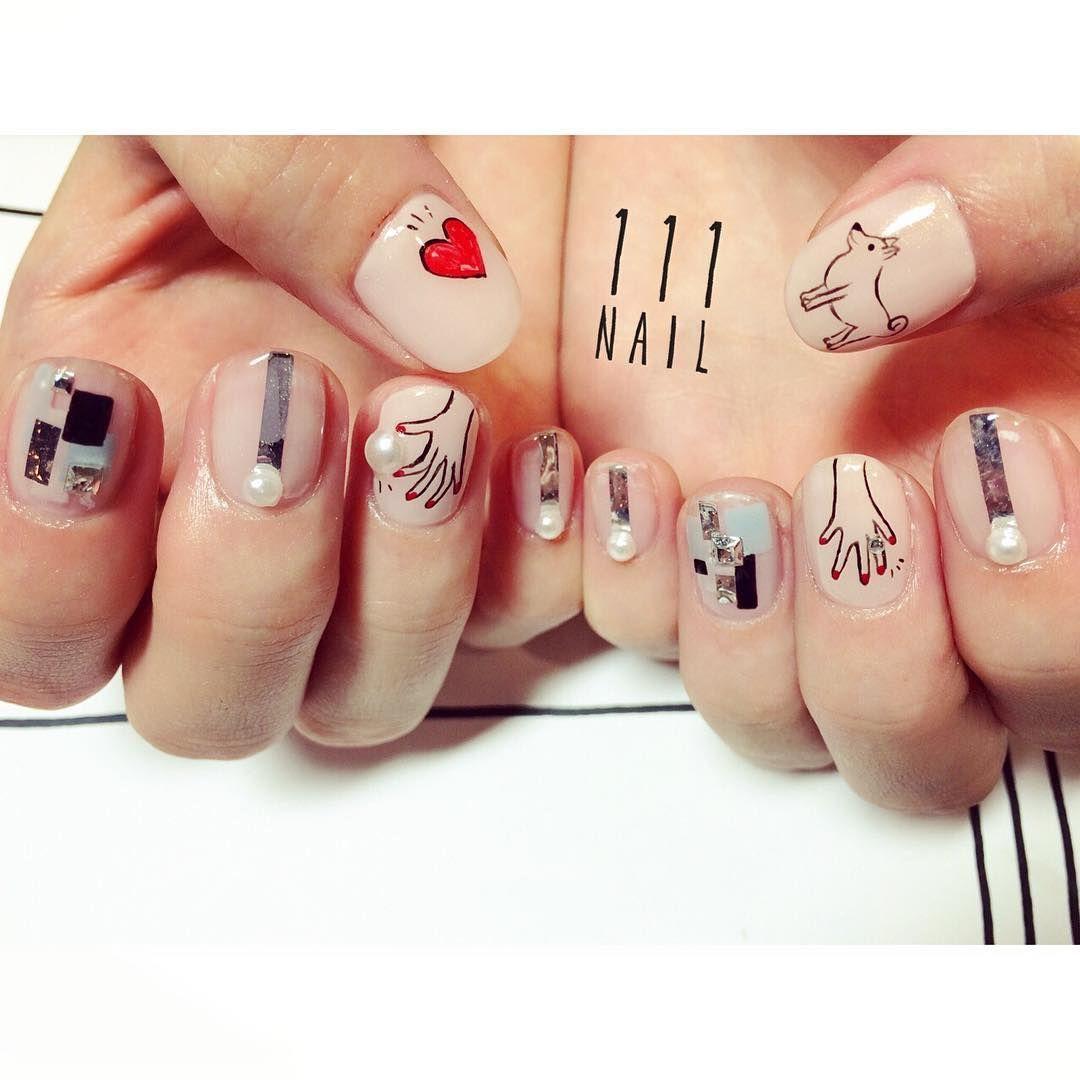 http://yuka-nakajima.tumblr.com/ | Nail Art (Japanese) | Pinterest