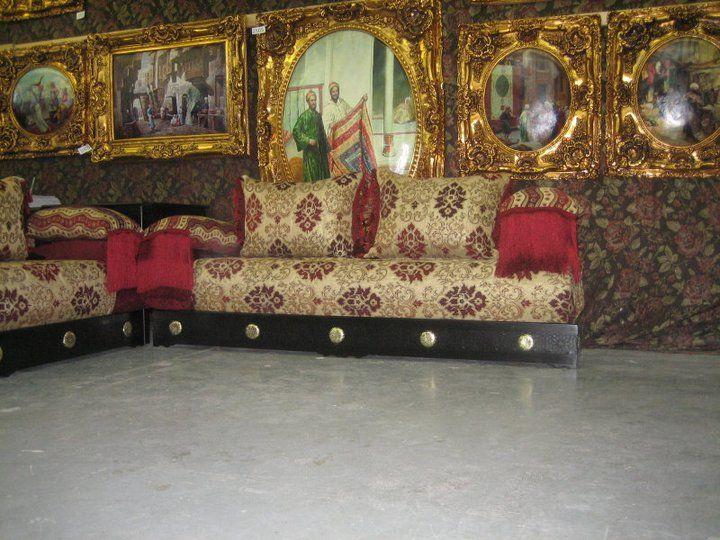 cration de salon marocain style moderne - Salon Marocain Salon Moderne
