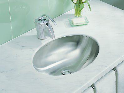 Kohler K 2602 Su Na Rhythm Elliptical Undermount Bathroom Sink With Satin Finish