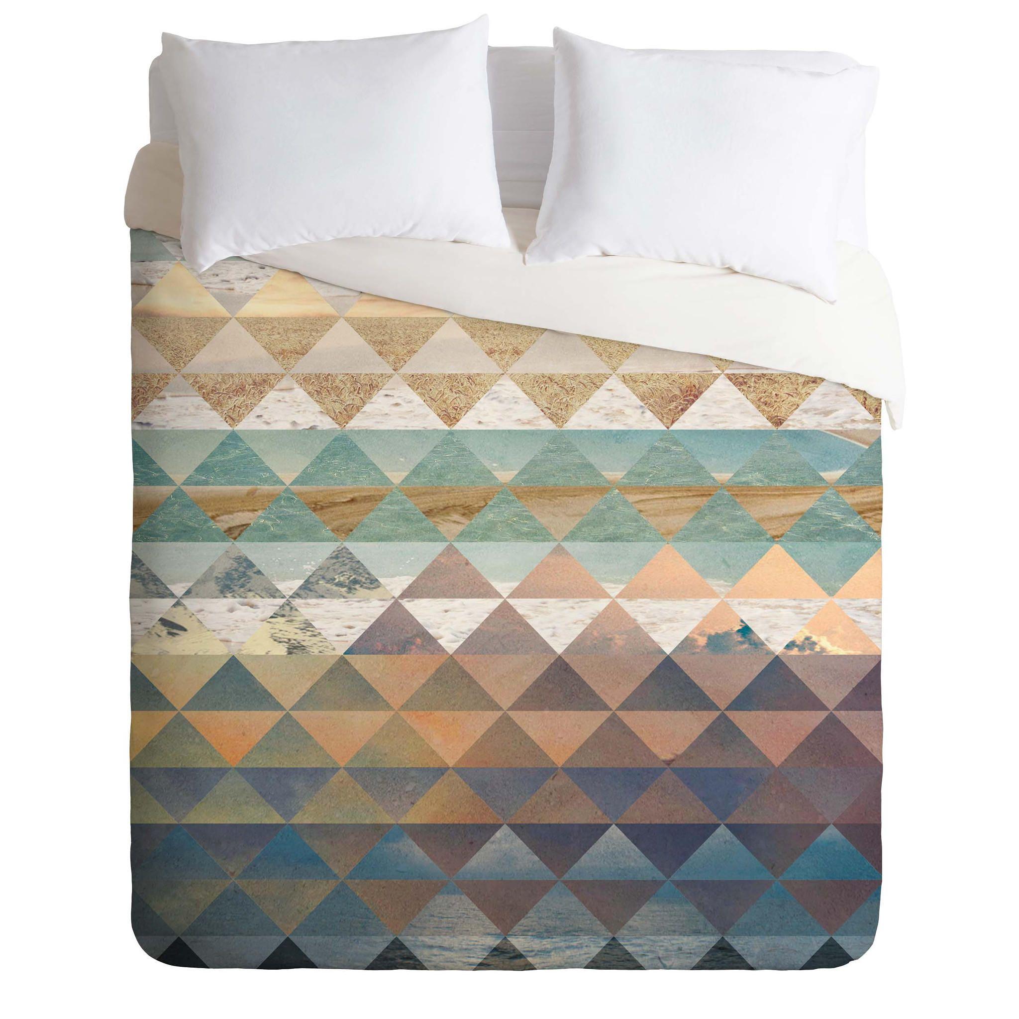 Kei Ibrox Duvet Cover from DENY Designs. Saved to DENY Designs Duvet Covers. #bedroom #bedding #decor #home #beach #geometric.