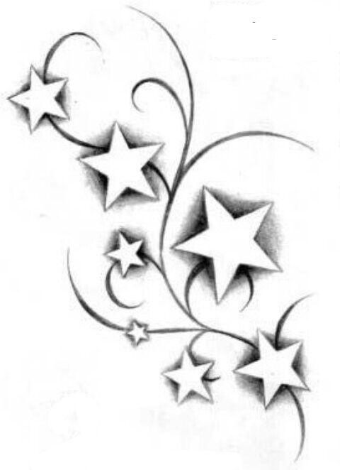 Berlinroots Com Tattoo Vorlagen Tattoo Sterne Tatowierungen 7