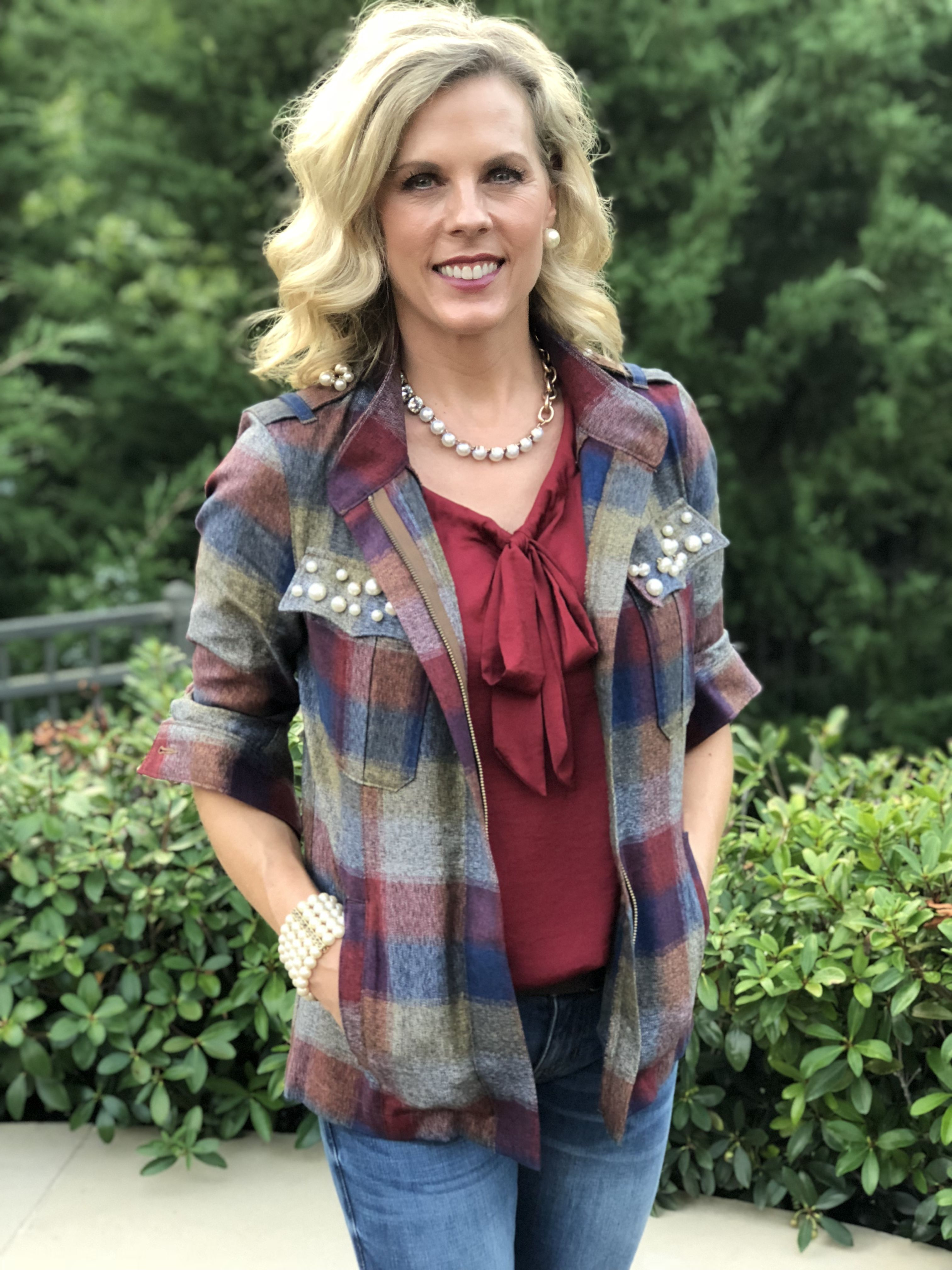 e15c26252c1f Fall 2018 Collage Jacket and Cinch Top. ❤️cabi