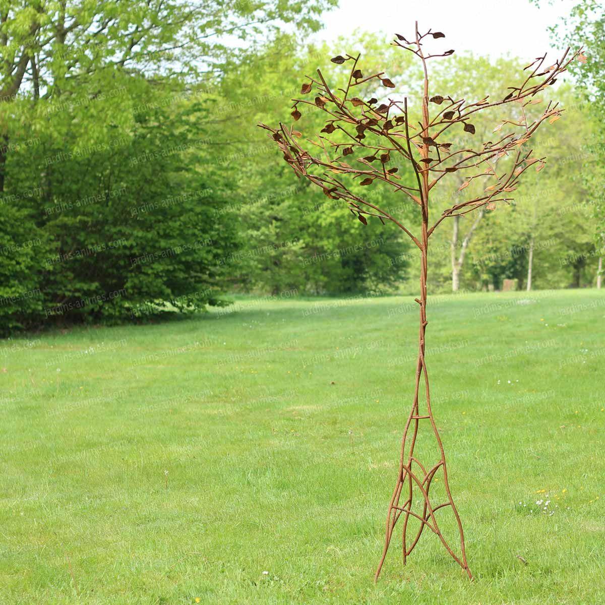 Hauteur Cerisier Du Japon arbre cerisier du japon, sculpture en acier | metals | metal