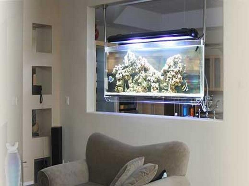 26 Unique Aquarium Furniture Ideas Innovative And Reliable Wall Aquarium Fish Tank Design Aquarium