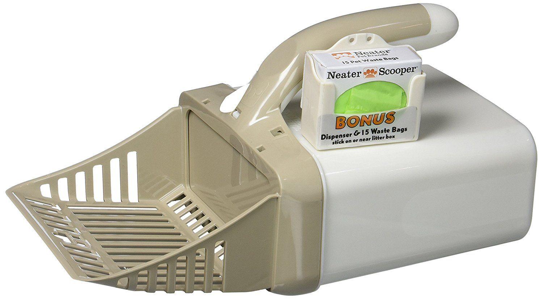 Neater Pet Brands Scooper Cat Litter Scoop >>> To view