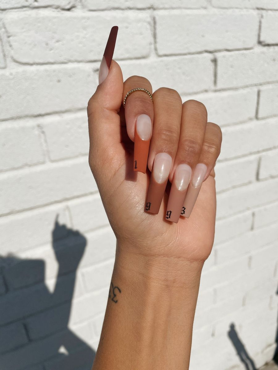 1993 French Tip Nails
