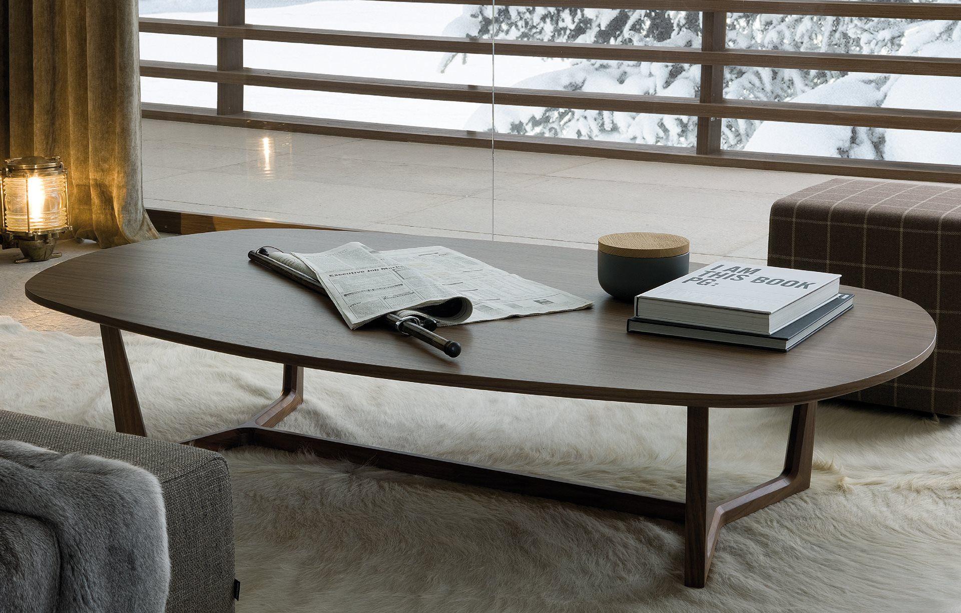 Coffee Tables Poliform Tridente Coffee Table Modern Wood Coffee Table Burled Wood Coffee Table [ 1224 x 1920 Pixel ]