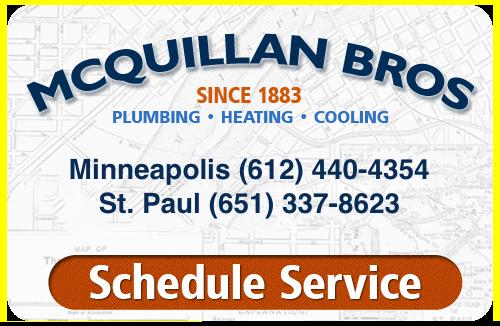 Mcquillan Bros Plumbing Heating And Ac Minneapolis St Paul Plumber Furnace Repair Shoreview Heater Repair