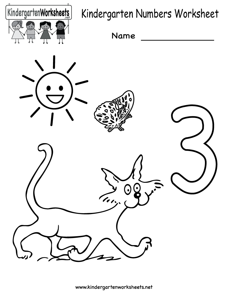 Kindergarten numbers worksheet printable worksheets legacy kindergarten numbers worksheet free kindergarten math worksheet for kids robcynllc Image collections