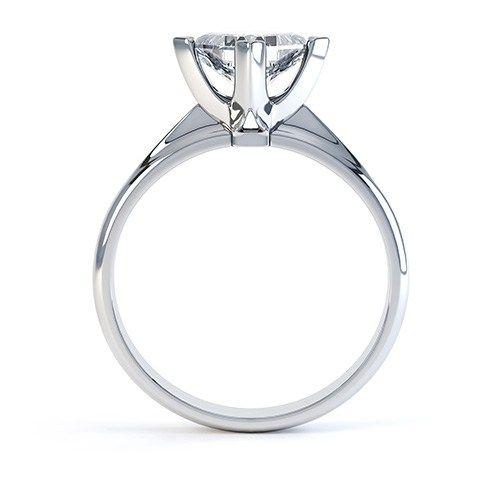 Princess Single Solitaire Diamond Ring Engagementrings Diamonds