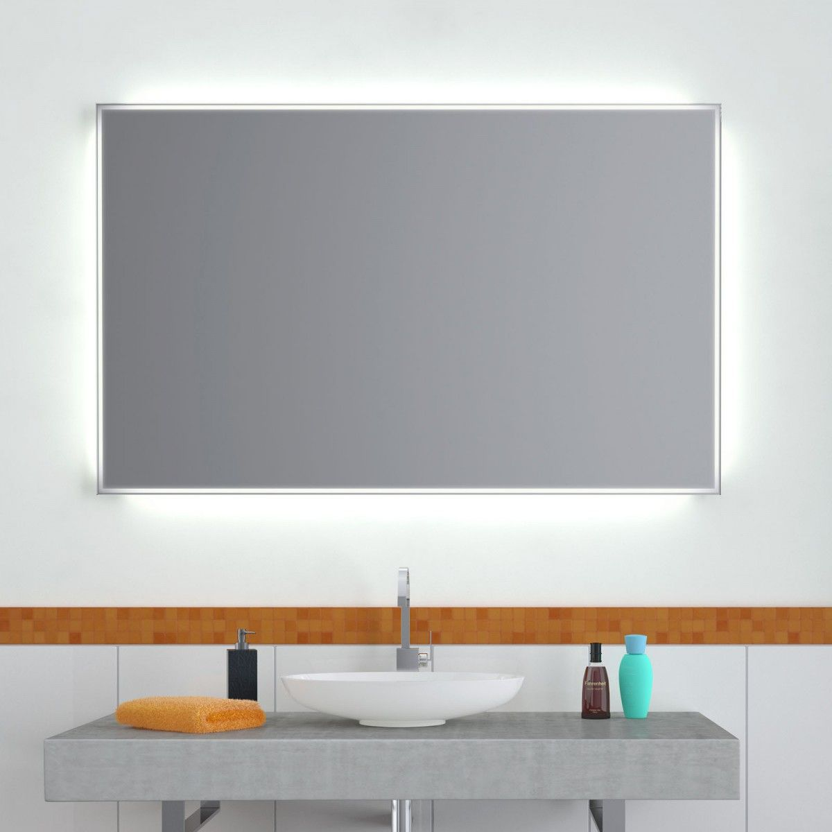 Wandspiegel Led Minimalis Wandspiegel Badspiegel Badspiegel Beleuchtet