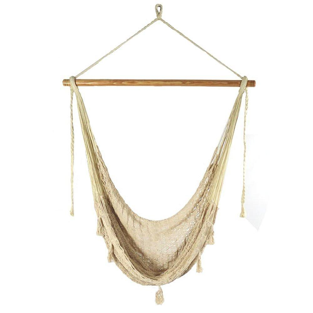 Xl natural color macrame boho chair hammock products