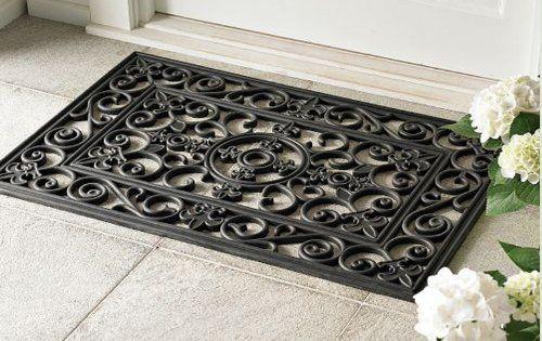 Decorative Heavy Duty Doormat Rubber Outdoor Decor Welcome Floor Door Mat Patio Door Mat Entrance Door Mats Entrance Mat