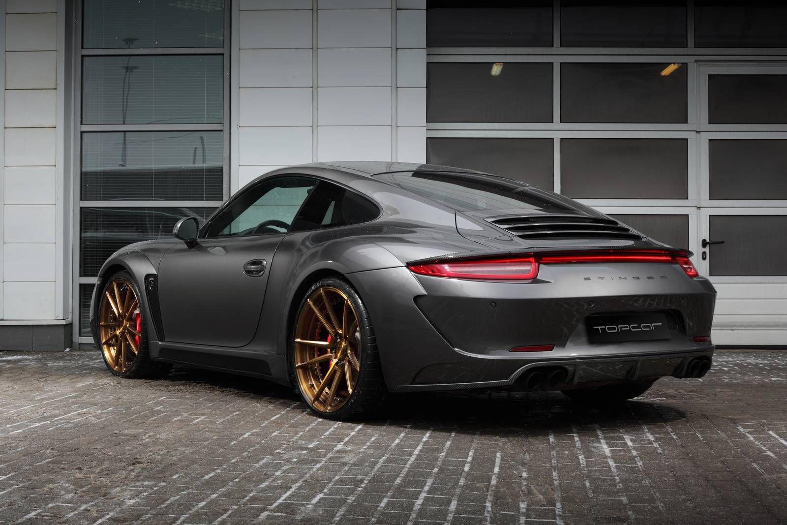 Porsche Carrera 4s Stinger By Topcar Gtspirit Porsche Carrera Porsche Porsche 911 Carrera 4s