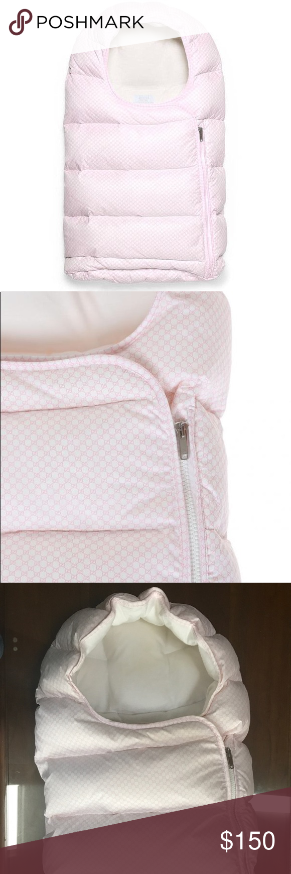 half off 8804d cc255 Gucci Baby Sleeping Bag::Great Condition$450 Value 100 ...