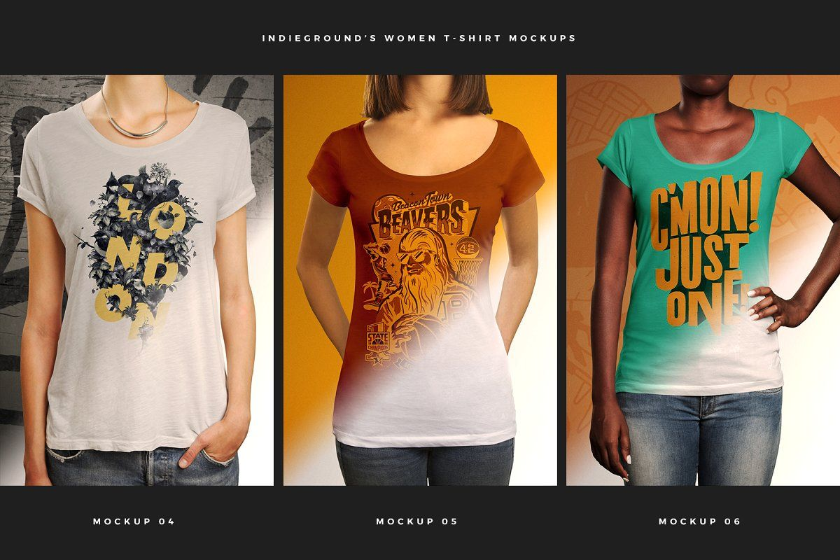 Download Women T Shirt Mockups T Shirts For Women Shirt Mockup Clothing Labels