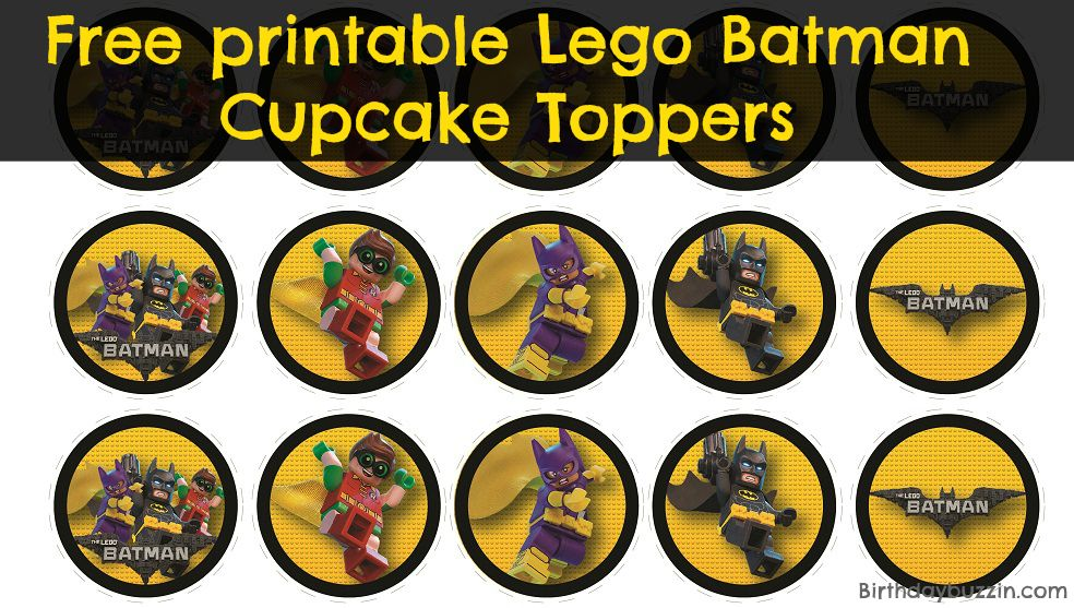 It's just a picture of Batman Cupcake Toppers Printable with regard to cut out