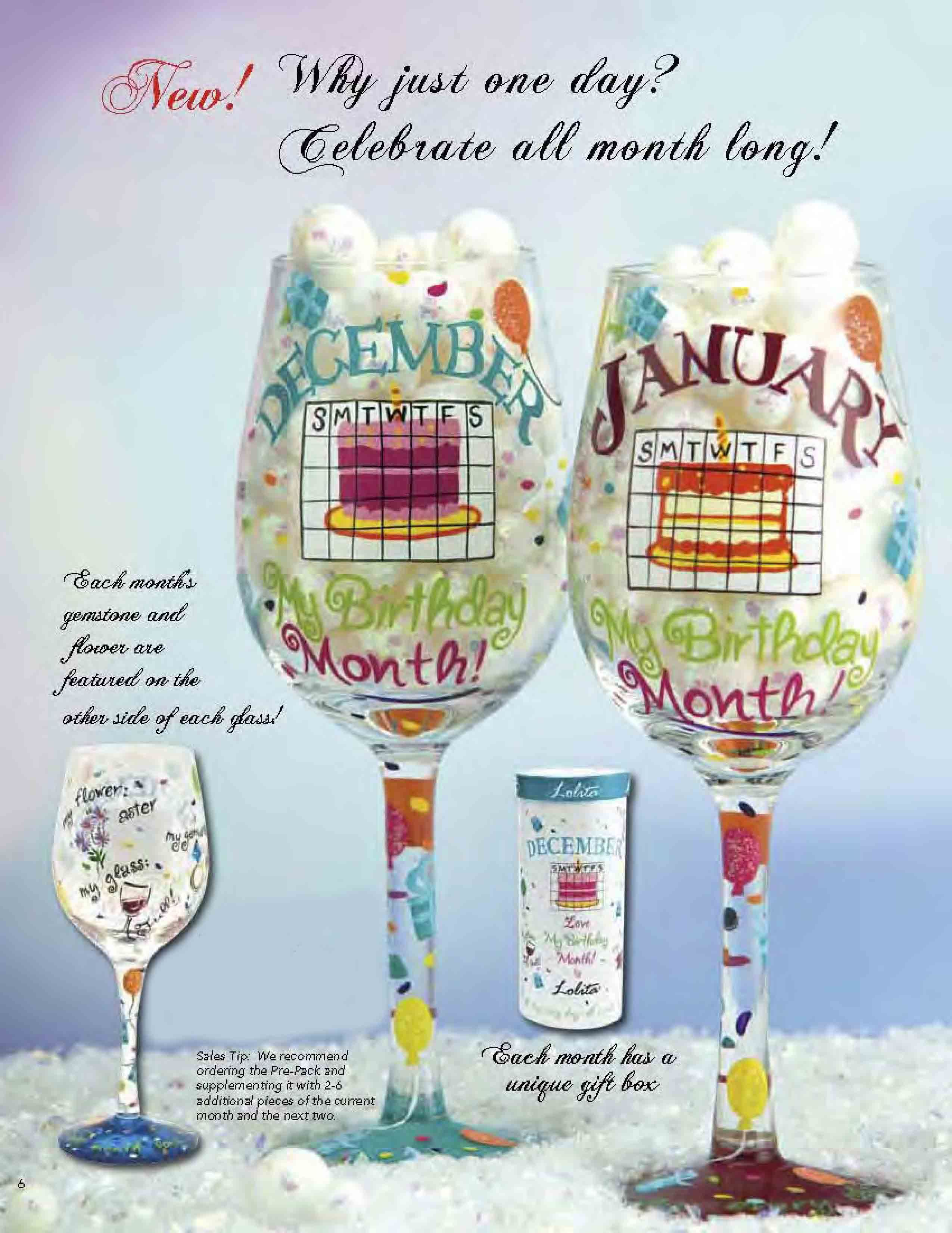 4773e5e189c5 Love all the Lolita Handpainted Wine Glasses! (And yes