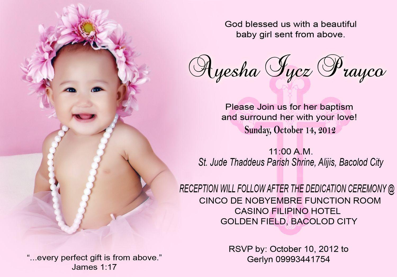 C Ayesha Iycz Christening 3rsize For Inquiries Please
