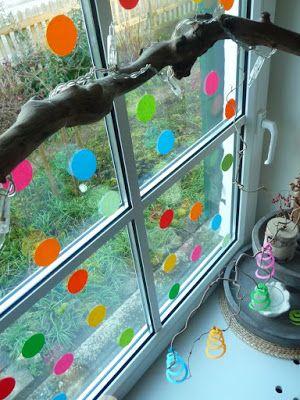 Meine gr ne wiese fasching pinterest fasching karneval deko basteln und karneval basteln - Fensterdeko karneval ...