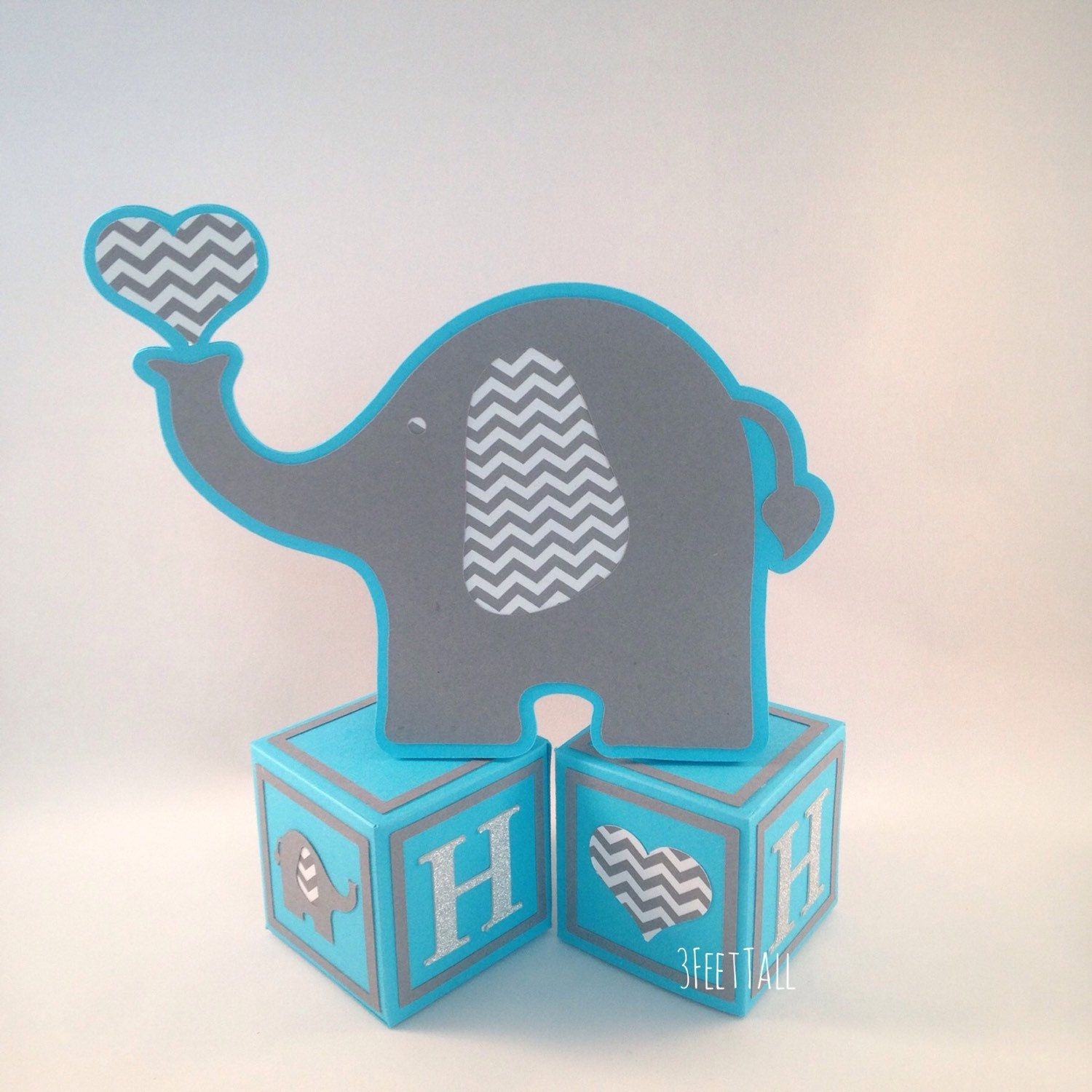 Elephant Baby Shower Centerpieces Table Decorations Elephant on