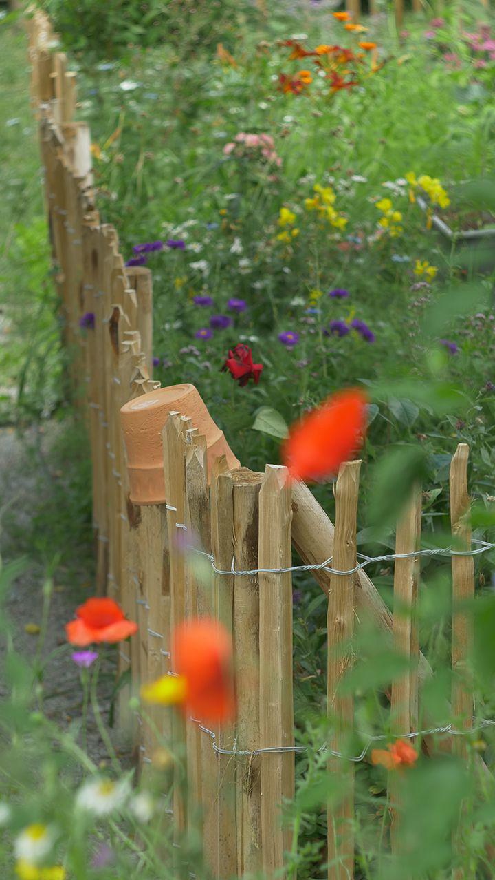 5 Schritte zum perfekten Staketenzaun für deinen Garten #vorgartenanlegen