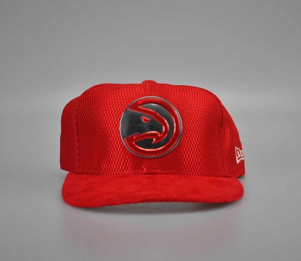 wholesale dealer 553c8 dcb16 Atlanta Hawks New Era 2017 NBA Draft Official On Court Collection 59FIFTY  Fitted  NewEra  AtlantaHawks