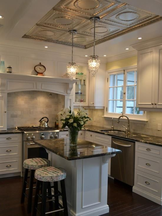 20 Architectural Details of a Stand-Out Ceiling | Cocinas, Mis ...