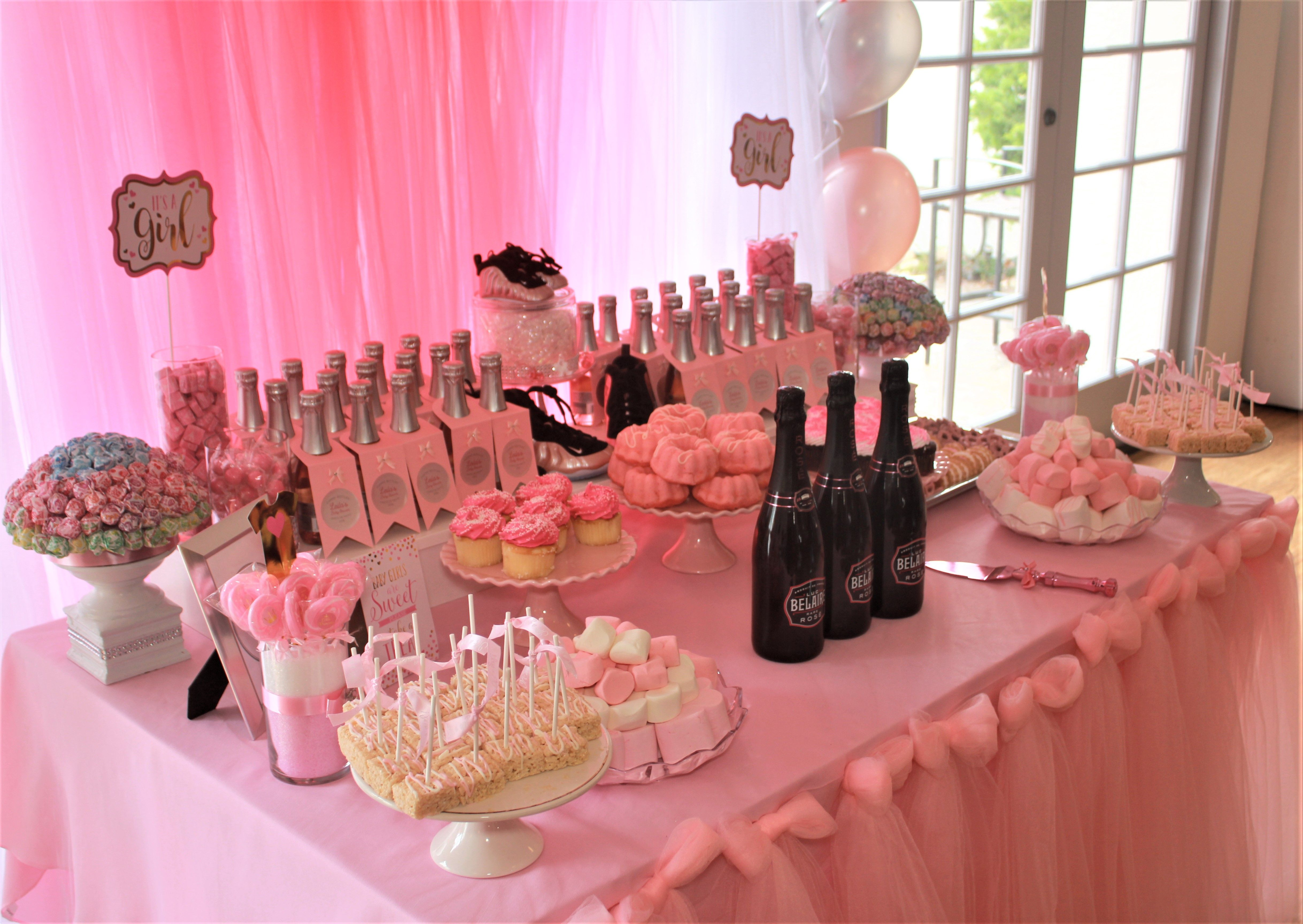Sweets Table And Party Favors Poppin Bottles Poppin Bottles Baby Couples Baby Showers Poppin Bottles