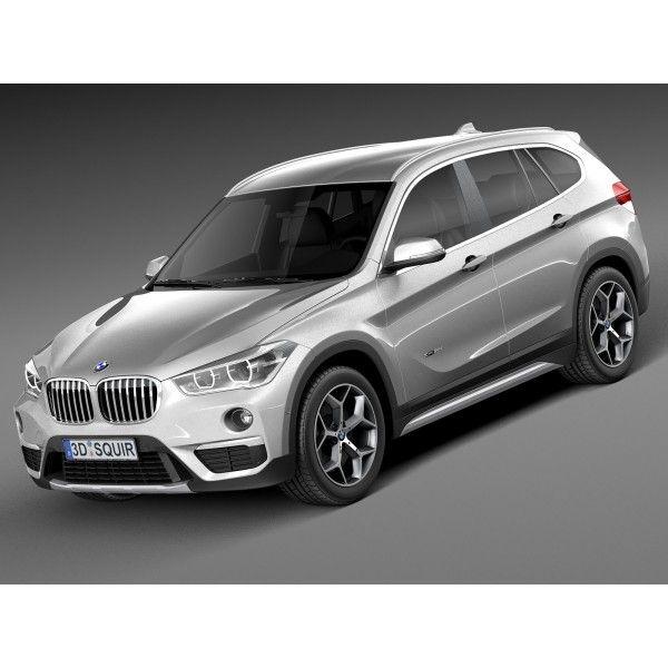 Bmw X1 M Sport: BMW X1 2016 F48 - 3D Model