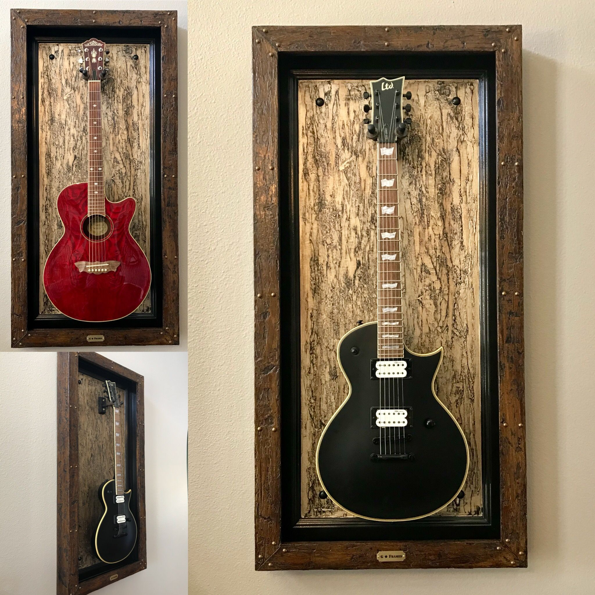 Gold wizard wood g frame guitar display frame guitar hanger gold wizard wood g frame guitar display frame guitar hanger holder gframes jeuxipadfo Gallery