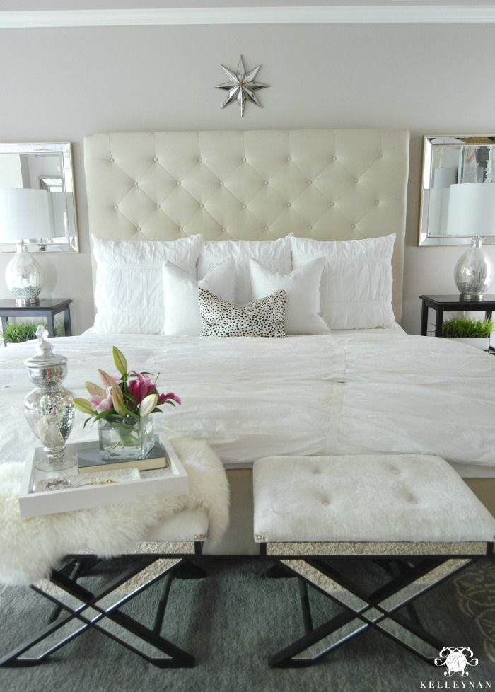 The Transformation Of One Bed Over One Year Home Bedroom
