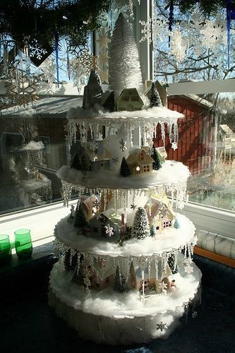 ARVORE !! DE CRISTAL !! Christmas ideas Pinterest Christmas